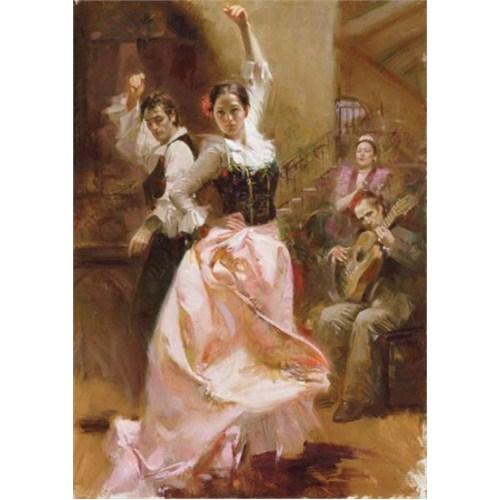 Art Puzzle Dancing in Barcelona (1500 Parça)
