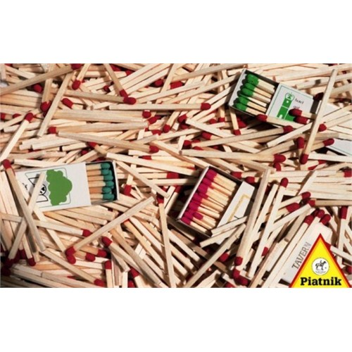 Piatnik Puzzle Kibrit Çöpleri (1000 Parça)