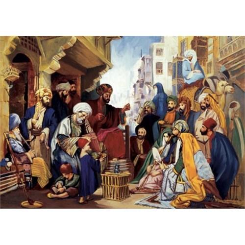 Art Puzzle Kahirede Bir Sokak (1500 Parça)