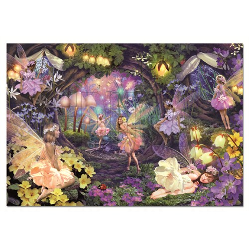 Educa Puzzle Fairy Hollow (1000 Parça)