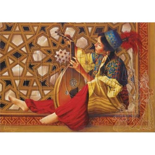 Educa Puzzle Zülfizar Cariye Ve Sedefli Kapak (1000 Parça)