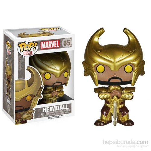 Funko Marvel Heimdall with Helmet POP