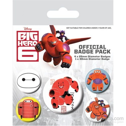 Rozet Seti - Big Hero 6 Baymax BP80498