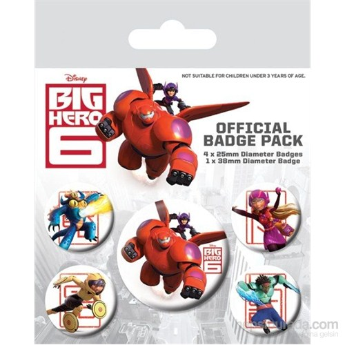 Rozet Seti - Big Hero 6 Characters BP80499