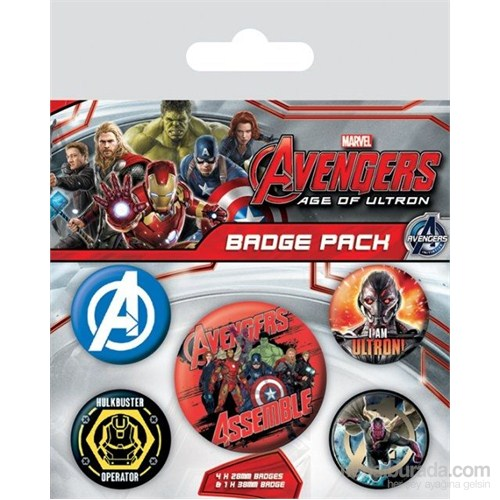 Rozet Seti - Avengers Age Of Ultron BP80501