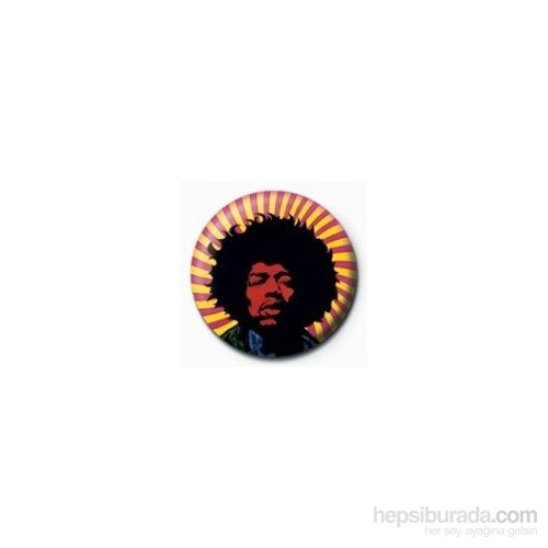 Rozet - Jimi Hendrix Psychedelic