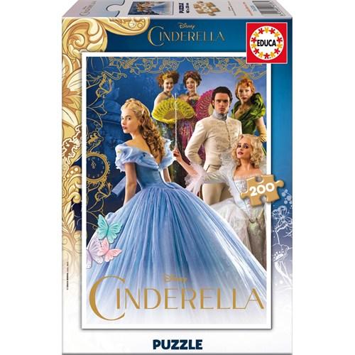 Educa Puzzle Çocuk 200 Parça Disney Cindirella