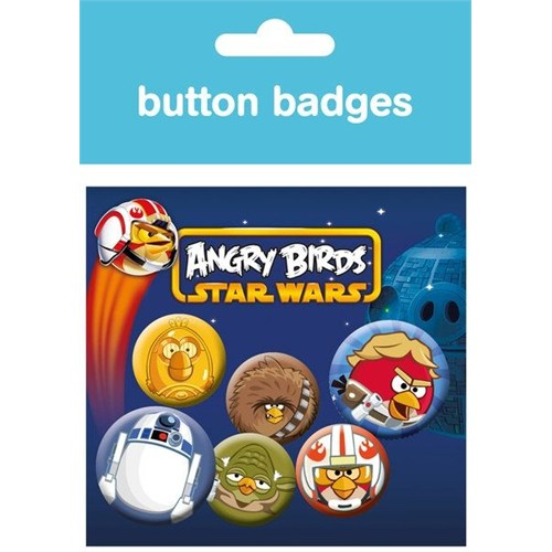 Rozet Seti - Angry Birds Star Wars Rebellion Pack