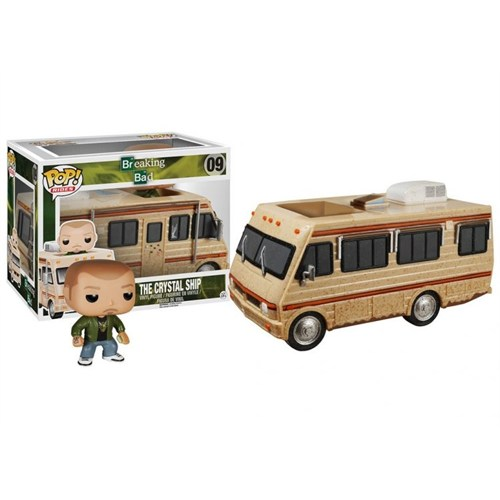 Funko Rides Breaking Bad The Crystal Ship Pop