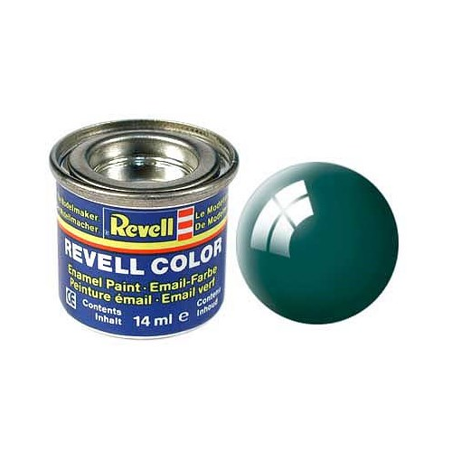 Revell Sea Green Gloss 14 Ml Maket Boyası