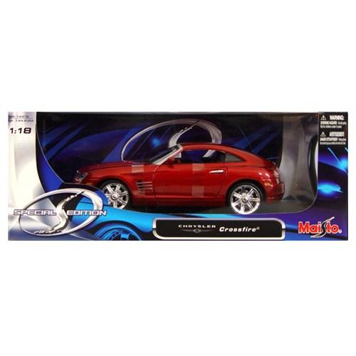 Maisto Chrysler Crossfire Special Edition Model Araba 1:18 Kırmızı