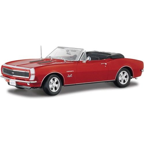 Maisto 1967 Chevrolet Camaro 396 Convertible Special Edition Model Araba 1:18 Kırmızı