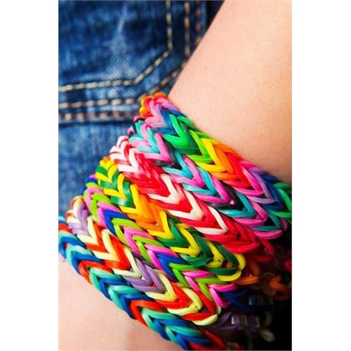 Buffer Rengarenk Bileklik Yapma Seti Rainbow Bands