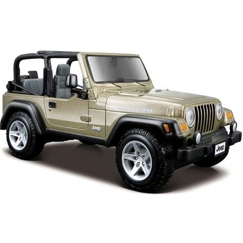 Maisto Wrangler Rubicon Jeep Special Edition Model Araba 1:27