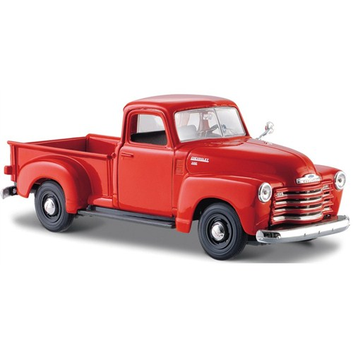 Maisto Chevrolet 3100 Pickup 1950 Diecast Model Araba 1:24 Special Edition Kırmızı