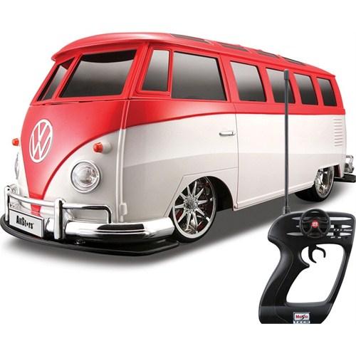 Maisto Volkswagen Van Samba Tech Uzaktan Kumandalı Araba 1:10