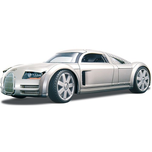 Maisto Audi Supersportwagen ''Rosemeyer'' Model Araba 1:18 Special Edition Gri