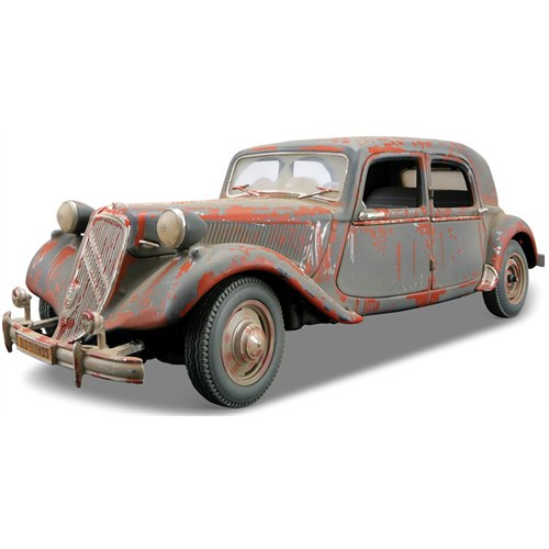 Maisto Citroen 15cv 6 Cyl 1952 Model Araba 1:18 Old Friends Gri