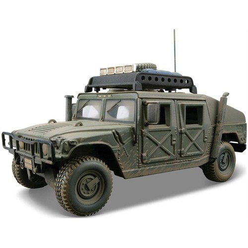 Maisto Humvee Model Araba 1:24 Dirt Riders Yeşil