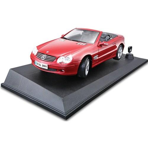 Maisto Mercedes-Benz Sl Işıklı ve Sesli Koleksiyon Araba 1:18 Maisto Tech Kırmızı