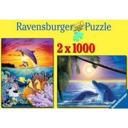 Ravensburger 2X1000 Parça Fantastik Waterworld Puzzle