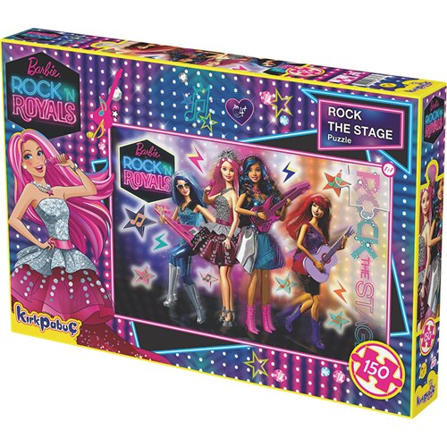 Kırkpabuc Barbie Rock The Stage Puzzle