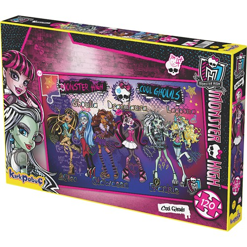 Kırkpabuc Monster High Cool Ghouls Puzzle