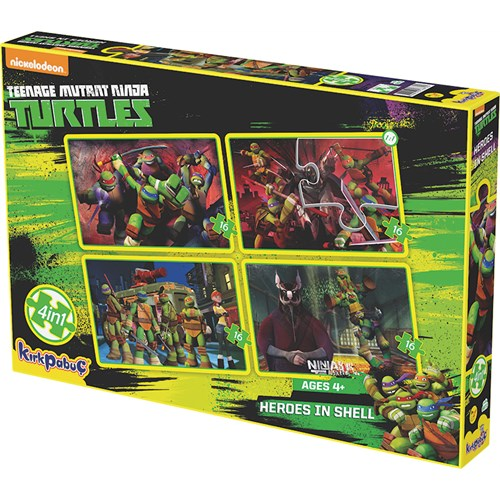 Kırkpabuc Ninja Turtles Heroes In Shell Puzzle