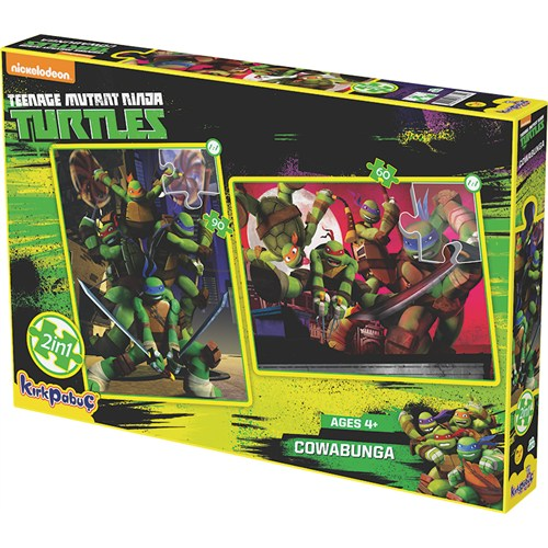 Kırkpabuc Ninja Turtles Cowabunga Puzzle