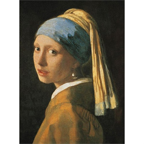 Clementoni 1000 Parça Puzzle Vermeer Girl With A Pearl Earr