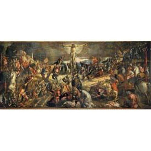 Ricordi Puzzle La Crocefssione, Tintoretto (2000 Parça)