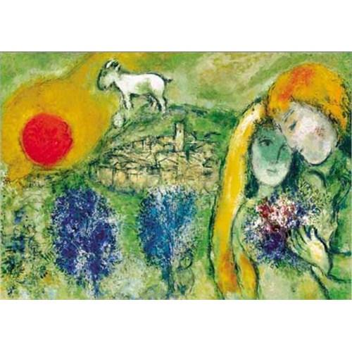 Ricordi Puzzle Les amoureux de Vence, Chagall (1500 Parça)