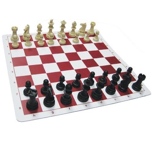 Satranç St-1 Staunton Tipi Şah Boyu 62 Mm Çantalı Satranç Takımı