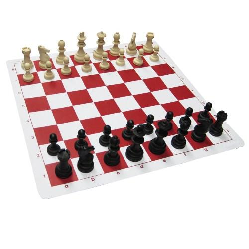 Satranç St-2 Staunton Tipi Şah Boyu 85 Mm Çantalı Satranç Takımı