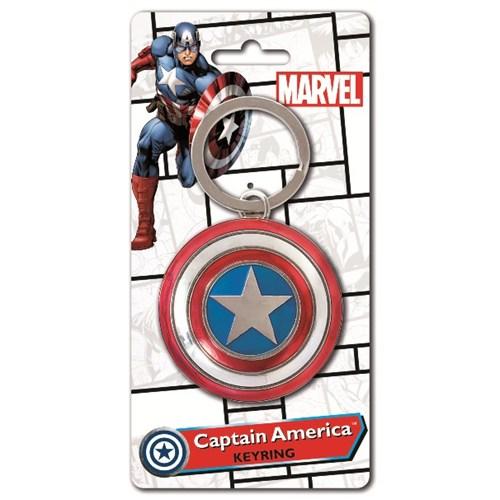 Captain America Shield Anahtarlık