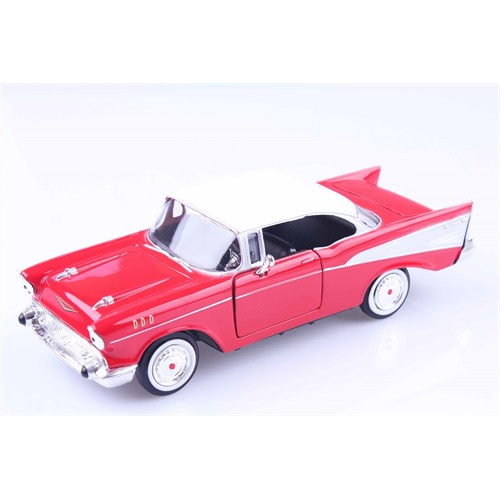 Diecast 1957 Chevy Bel Air 1/24 Die Cast Model Araç