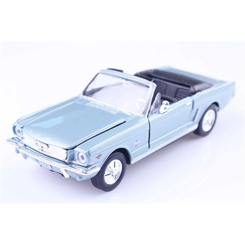 Diecast 1964 Ford Mustang Cabrio 1/24 Die Cast Model Araç