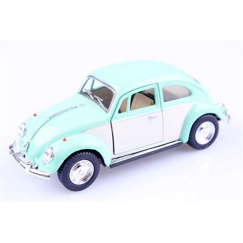 Diecast 1967 Volkswagen Classical Beetle 1/32 Çek Bırak Die Cast Model Araç