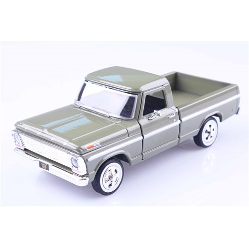 Diecast 1969 Ford F-100 Pickup 1/24 Die Cast Model Araç