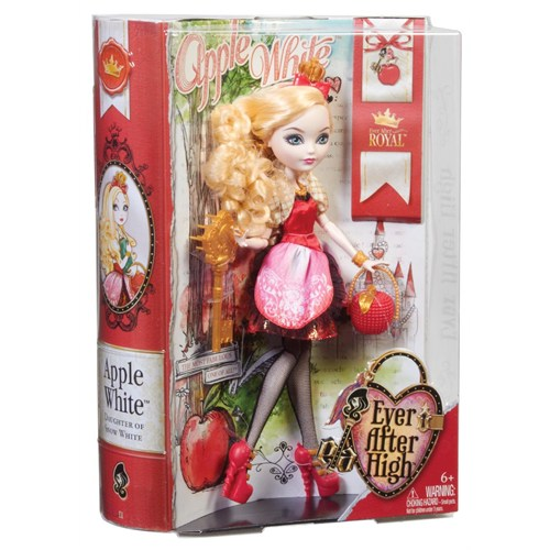 Mattel Asiller Apple White Oyuncak Bebek Ever After High