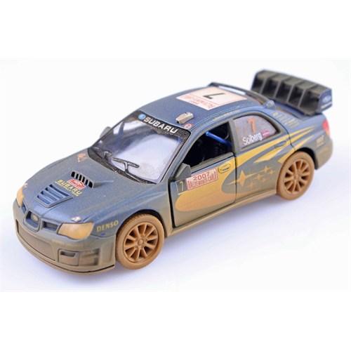 Diecast Off-Road Subaru Impreza Wrc 2007 Çek Bırak 1/36 Die Cast Model Araç