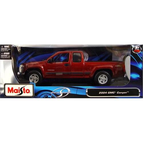 Maisto GMC Kanyon 2004 Special Edition Model Araba 1:18 Kırmızı