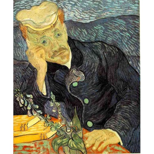 Ricordi Puzzle Docteur Gachet,Van Gogh (1000 Parça)