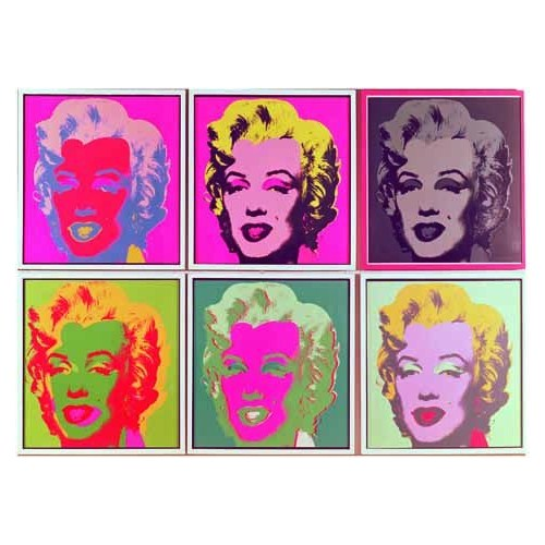 Ricordi Puzzle Andy Warhol, Marylin (1000 Parça)