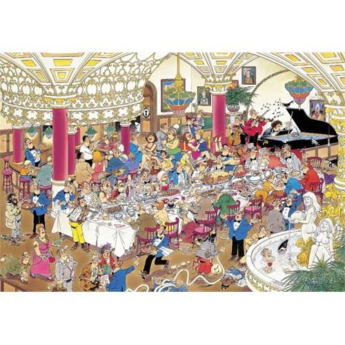 Jumbo Puzzle The Wedding (1000 Parça)