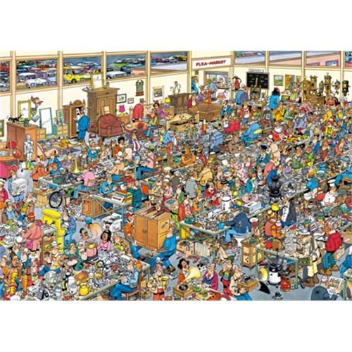 Jumbo Puzzle The Antique Show (1000 Parça)