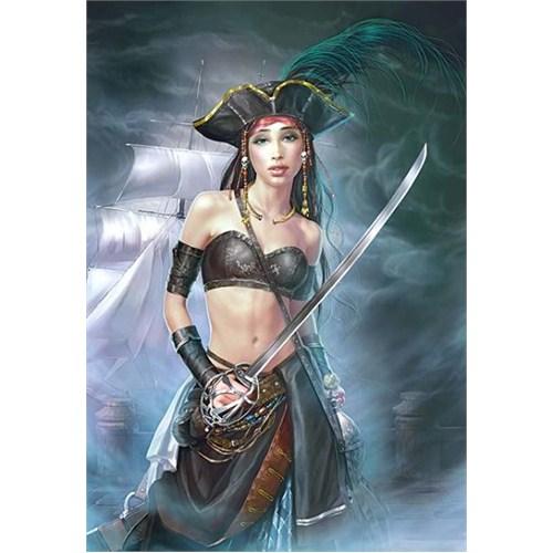 Castorland Puzzle Female Pirate (1000 Parça)