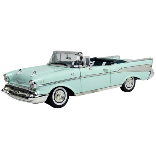 Motormax 1:18 1957 Chevy Bel Air -Yeşil Model Araba