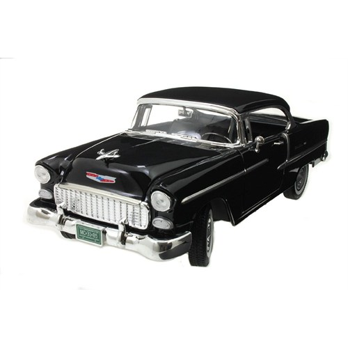 Motormax 1:18 1957 Chevy Bel Air -Siyah Model Otomobil