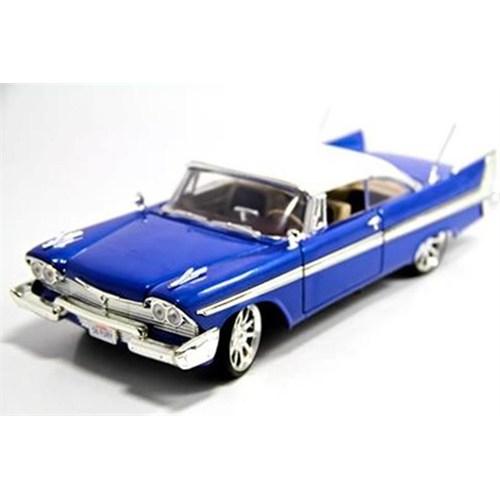 Motormax 1:18 1958 Plymouth -Lacivert